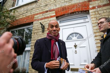 Liberal Democrat Foreign Affairs Spokesman and candidate of Cities of London & Westminster, Chuka Umunna canvassing in Watford