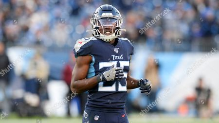 Tennessee Titans cornerback Adoree' Jackson plays against the Jacksonville Jaguars in an NFL football game, in Nashville, Tenn