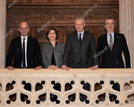 Editorial picture of Strategic Financial Education Committee, Paris, France - 25 Nov 2019