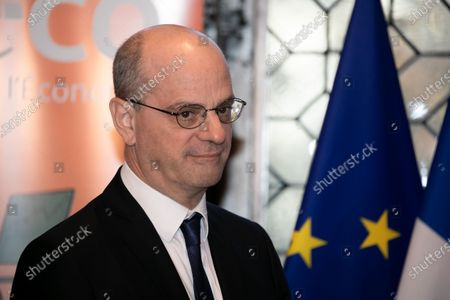 Jean-Michel Blanquer, Ministre de l'Education nationale et de la Jeunesse. Comite strategique d'education financiere bilan et perspectives pour 2020 a la Cite de l'Economie. Paris, FRANCE-25/11/2019.//04MEIGNEUX_meigneuxA064/1911251536/Credit:ROMUALD MEIGNEUX/SIPA/1911251540