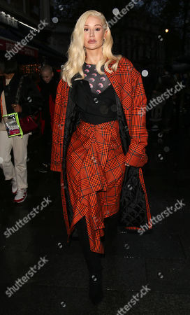 Editorial photo of Iggy Azalea out and about, London, UK - 25 Nov 2019