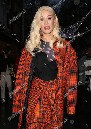 Editorial picture of Iggy Azalea out and about, London, UK - 25 Nov 2019