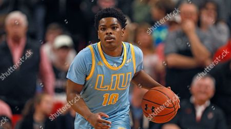 Editorial image of Long Island Men's Basketball, Lubbock, USA - 24 Nov 2019
