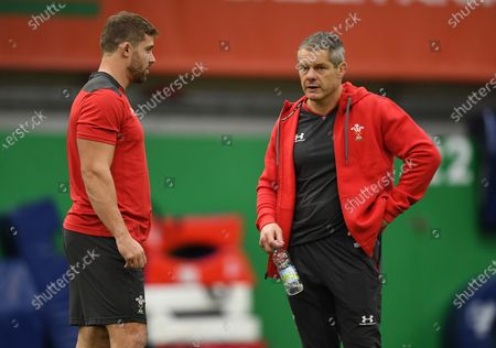 Leigh Halfpenny and Byron Hayward.