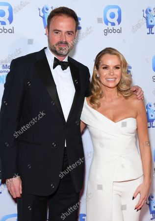 Jamie Theakston and Amanda Holden