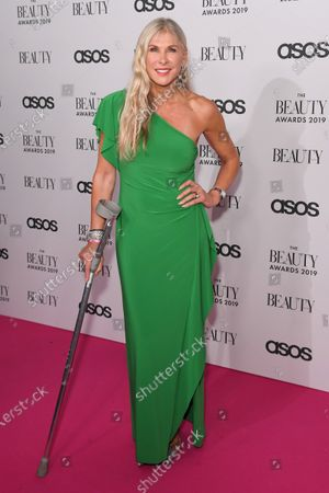 Editorial image of The Beauty Awards, Arrivals, London, UK - 25 Nov 2019
