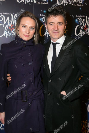 Stock Image of Claire Chambers and Tom Chambers