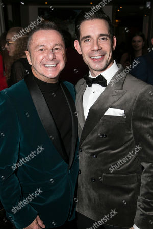 Stephen Mear (Choreographer) and Dan Burton (Phil Davis)