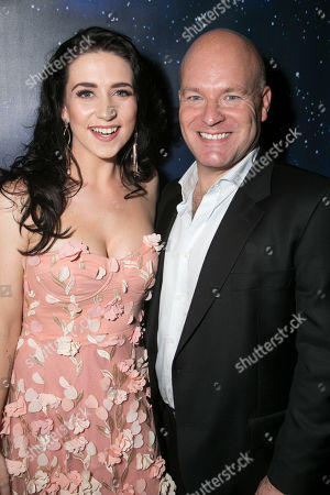 Stock Picture of Danielle Hope (Betty Haynes) and Jason Haigh-Ellery (Producer)
