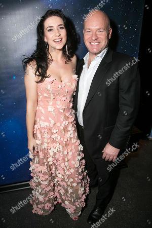 Danielle Hope (Betty Haynes) and Jason Haigh-Ellery (Producer)