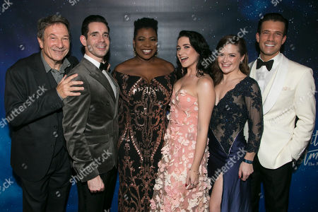 Editorial photo of 'White Christmas' musical, Press Night, London, UK - 25 Nov 2019