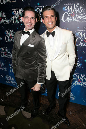 Stock Photo of Dan Burton (Phil Davis) and Danny Mac (Bob Wallace)