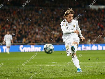 Luka Modric of Real Madrid