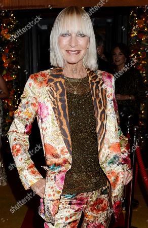 Editorial photo of Julie's Restaurant 50th Anniversary Party, London, UK - 25 Nov 2019