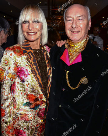 Stock Photo of Virginia Bates and Guest