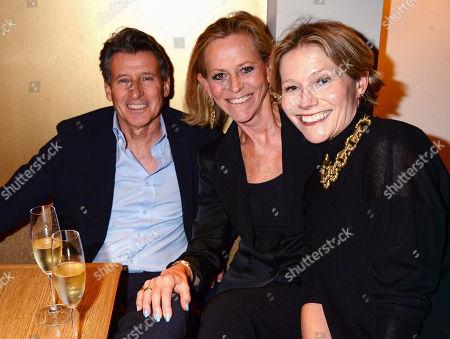 Lord Sebastian Coe, Guest and Carole Annett