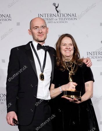 Editorial picture of 2019 International Emmy Awards, New York, USA - 25 Nov 2019