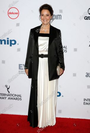 Editorial picture of 2019 International Emmy Awards, New York, USA - 25 Nov 2019