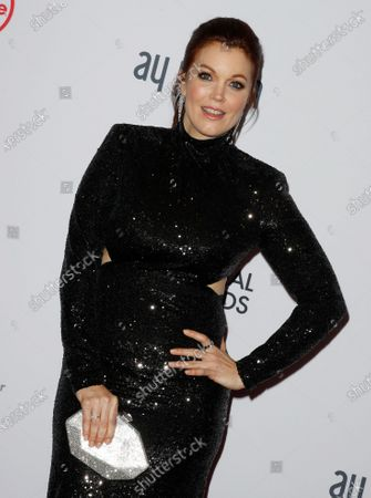 Bellamy Young arrives for the 47th International Emmy Awards Gala at the New York Hilton hotel in New York, New York, USA, 25 November 2019.
