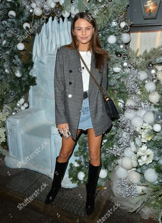 Editorial image of LA LOX launch party, The Ivy, Chelsea, London, UK - 25 Nov 2019