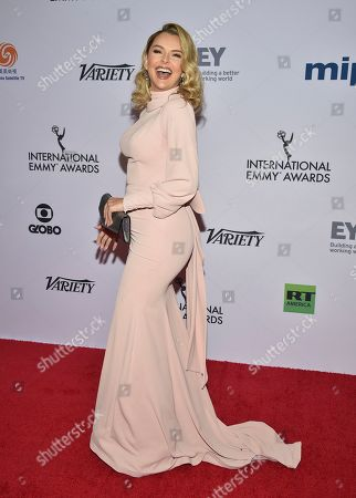 Editorial picture of 2019 International Emmy Awards - Arrivals, New York, USA - 25 Nov 2019