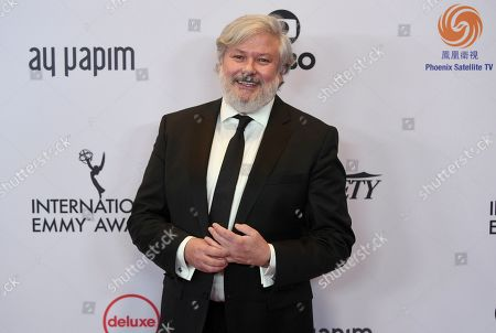 Stock Picture of Conleth Hill arrives at the 47th International Emmy Awards gala at the Hilton Hotel, in New York