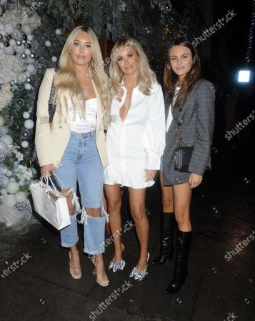 Amber Turner, Laura Anderson and Emily Blackwell
