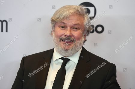 Conleth Hill arrives at the 47th International Emmy Awards gala at the Hilton Hotel, in New York