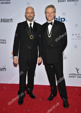 Editorial photo of 2019 International Emmy Awards - Arrivals, New York, USA - 25 Nov 2019