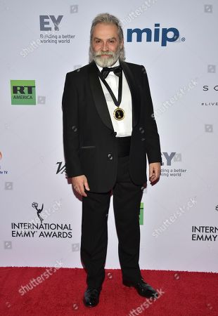 Editorial photo of 2019 International Emmy Awards - Arrivals, New York, USA - 25 Nov 2019
