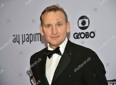 Stock Photo of Christopher Eccleston attends the 47th International Emmy Awards gala at the Hilton New York, in New York