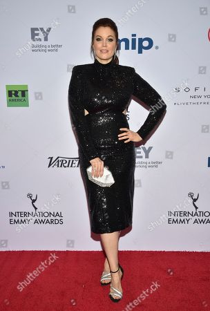 Bellamy Young attends the 47th International Emmy Awards gala at the Hilton New York, in New York