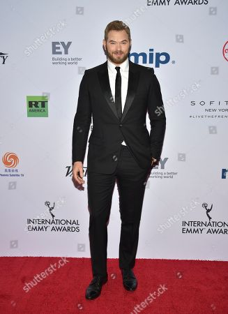 Kellan Lutz attends the 47th International Emmy Awards gala at the Hilton New York, in New York
