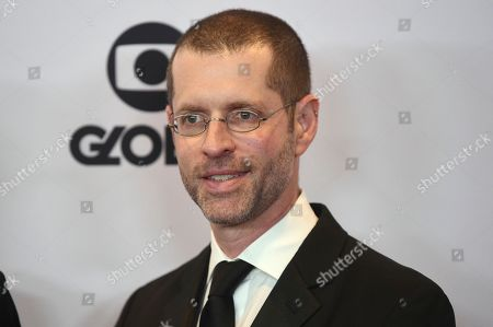 D. B. Weiss arrives at the 47th International Emmy Awards gala at the Hilton Hotel, in New York