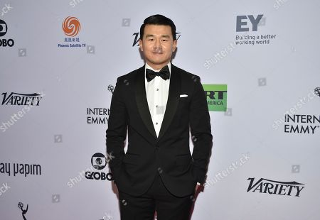 Ronny Chieng attends the 47th International Emmy Awards gala at the Hilton New York, in New York