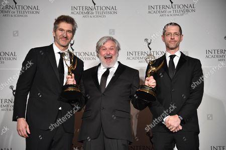 Editorial photo of 2019 International Emmy Awards - Press Room, New York, USA - 25 Nov 2019