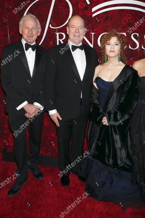 Victor Garber, Prince Albert II of Monaco and Bernadette Peters