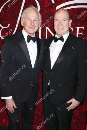 Stock Photo of Victor Garber and Prince Albert II of Monaco