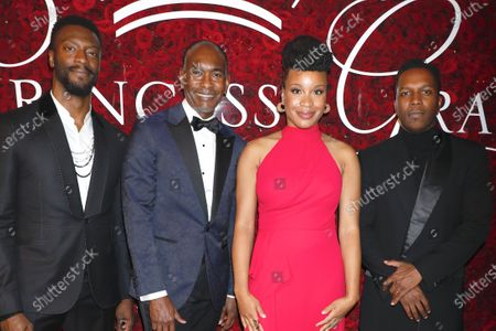 Stock Picture of Aldis Hodge, Paul Tazewell, Chinonye Chukwu and Leslie Odom Jr.