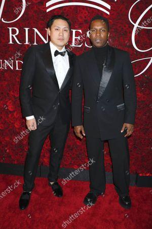 Jon M. Chu and Leslie Odom Jr.