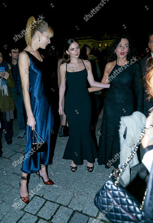 Stock Photo of Grace Johnson, Stella del Carmen Banderas, Javier Banderas and guest