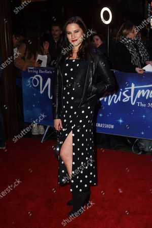Editorial picture of 'White Christmas' musical press night, London, UK - 25 Nov 2019
