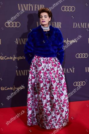 Editorial photo of Vanity Fair's Personality Of The Year Gala, Arrivals, Madrid, Spain - 25 Nov 2019