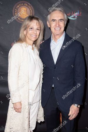 Stock Photo of Robin Todd and David Steinberg