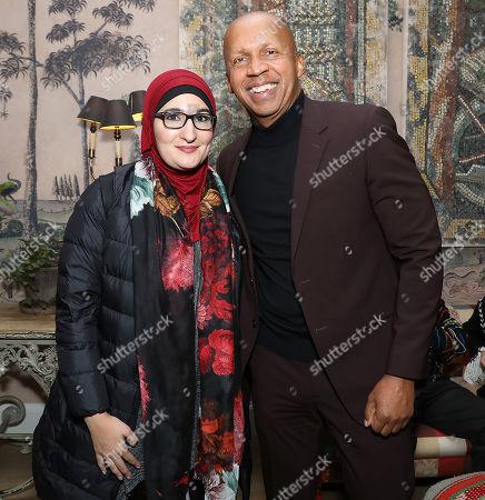 Linda Sarsour and Bryan Stevenson (Author; Exec. Prod)