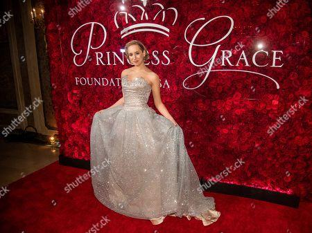 Jazmin Grace Grimaldi attends the 2019 Princess Grace Awards Gala at The Plaza Hotel, in New York
