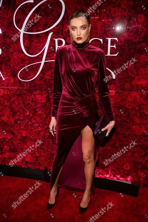 Stock Picture of Alina Baikova attends the 2019 Princess Grace Awards Gala at The Plaza Hotel, in New York