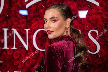 Alina Baikova attends the 2019 Princess Grace Awards Gala at The Plaza Hotel, in New York