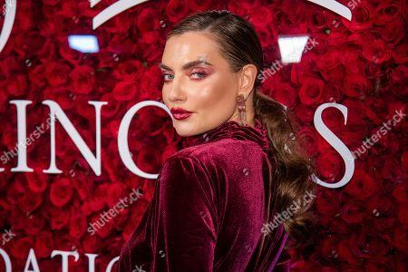 Stock Image of Alina Baikova attends the 2019 Princess Grace Awards Gala at The Plaza Hotel, in New York