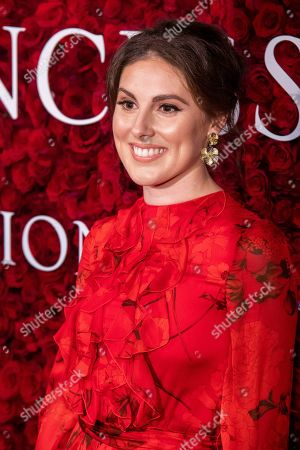 Tiler Peck attends the 2019 Princess Grace Awards Gala at The Plaza Hotel, in New York